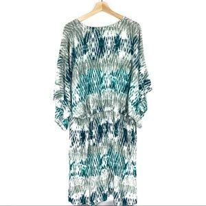 Ariat Swim - Ariat Beach Dress in Blue and Green Ikat